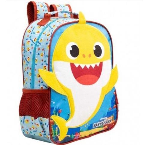 mochila baby shark p - 9043