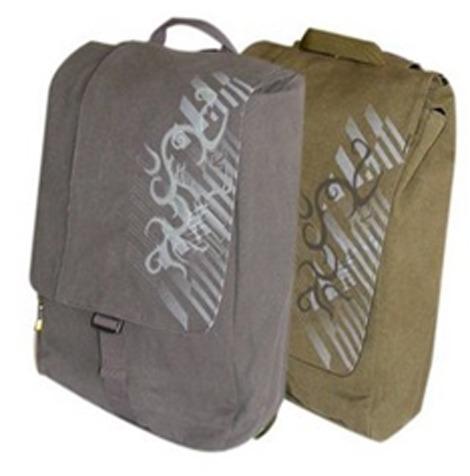 mochila back pack laptop 15-17 fabricada en lona case logic