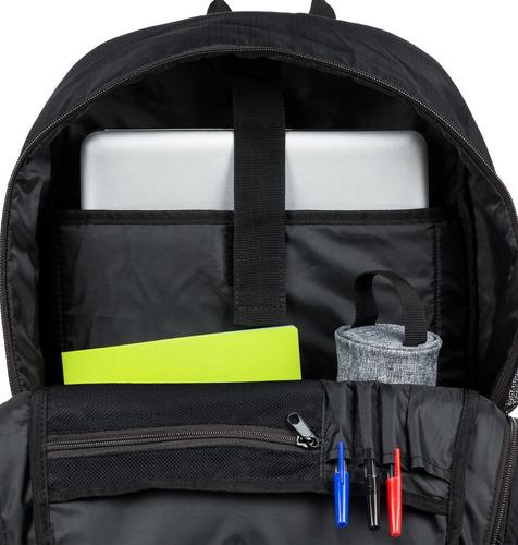 mochila backpack bushings edybp03181 negro dc shoes