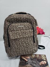 Original Usa Mochila Cafe Calvin Backpack Klein 4L35AjR