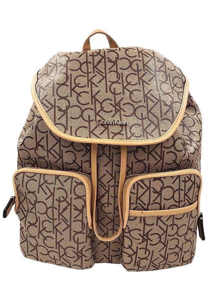 Klein Mochila Calvin Cafe Original Monogram Backpack 34AL5jR