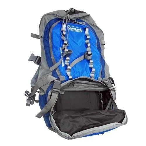 mochila backpack campismo 70 qt lonquimay azul coleman