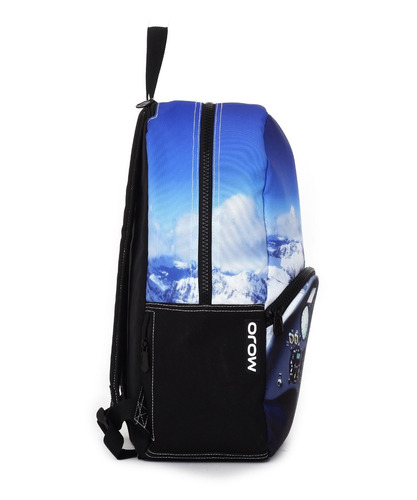 mochila backpack cockpit compartimento tablet mojo luz neon