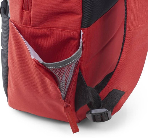 mochila backpack hp 15.6 rojo con gris y4t20aa