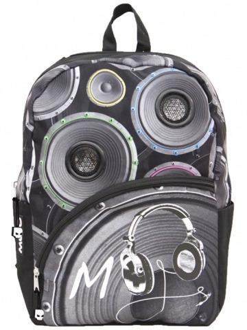 mochila backpack masta blasta con bocinas lona resistente