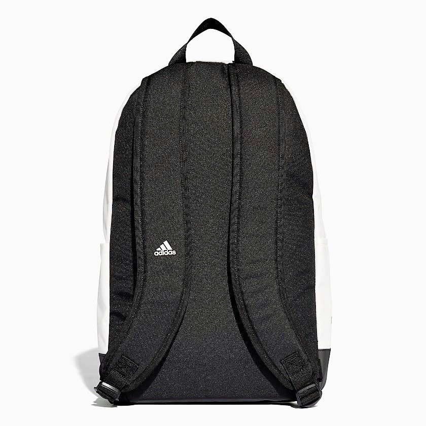 revisa c9a79 48543 Mochila Backpack Real Madrid 2018 Blanca Original