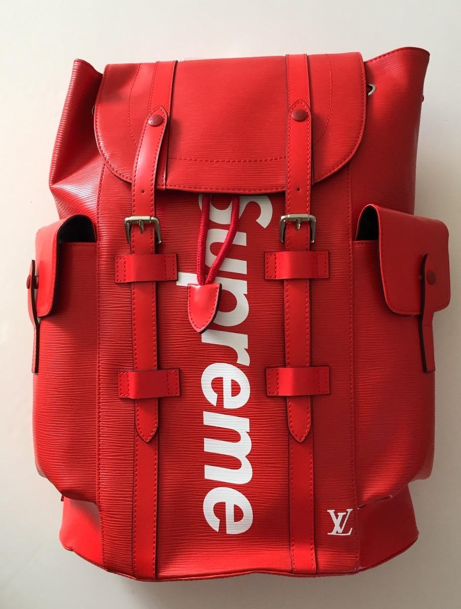 Mochila Backpack Supreme X Louis Vuitton Cargando Zoom
