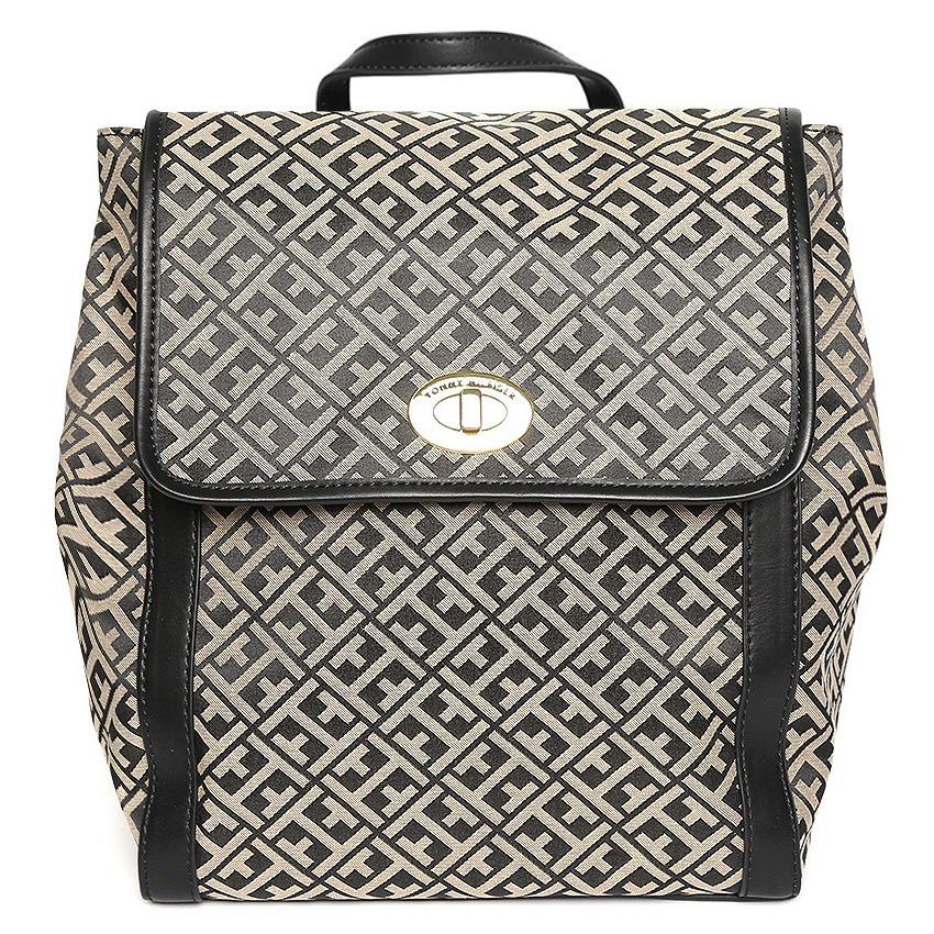 b013f4e61b4 mochila backpack tommy hilfiger original bolsa con monograma. Cargando zoom.