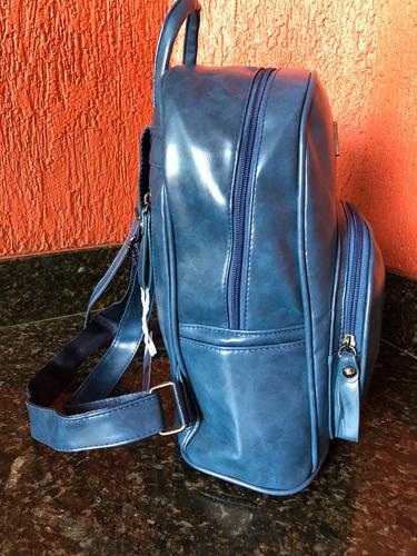 mochila bag azul