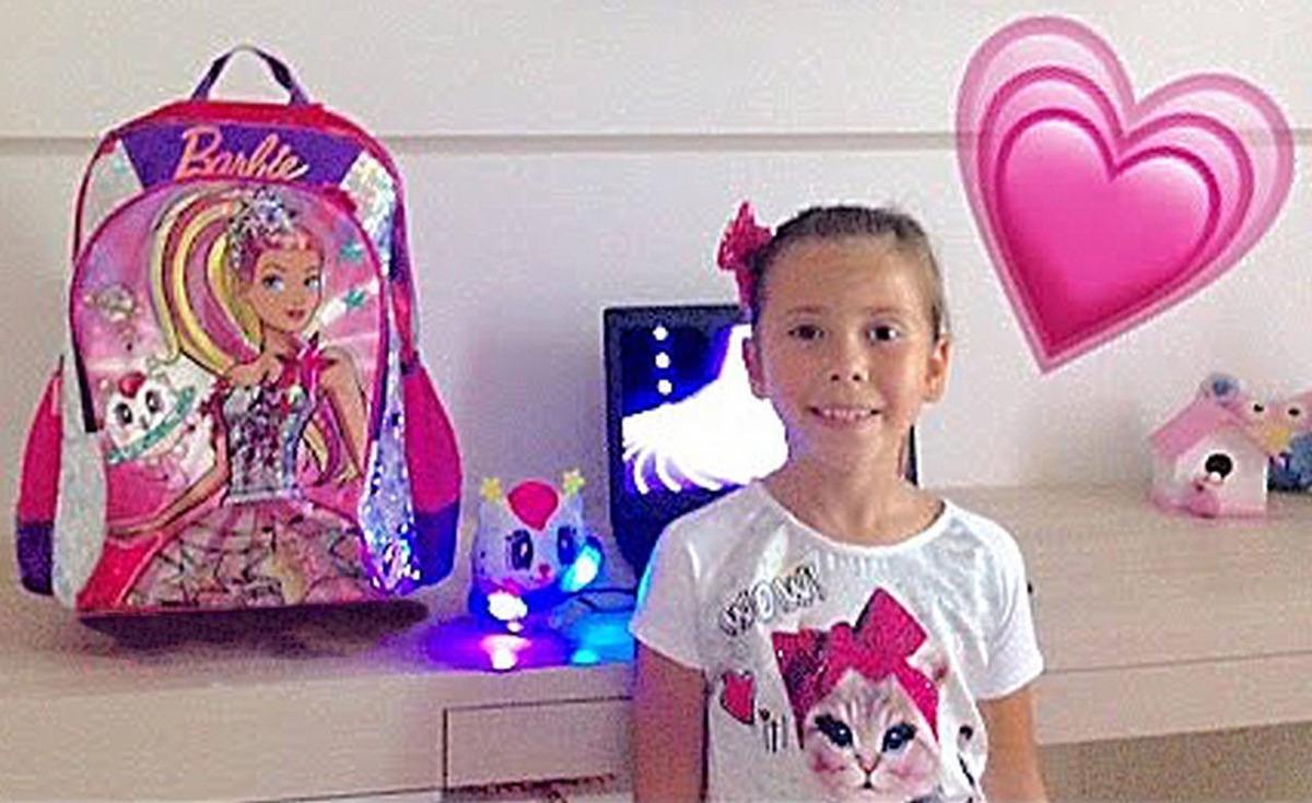 1817cf21d mochila barbie original sestine escolar infantil lançamento. Carregando  zoom.