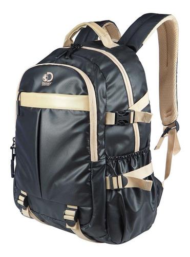 mochila barcelona viaje 30 l negra