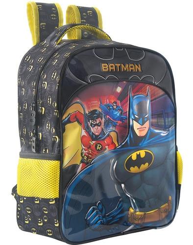 mochila batman bat squad m xeryus - 7233