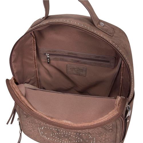mochila belgica fw19 backpack l brown secret