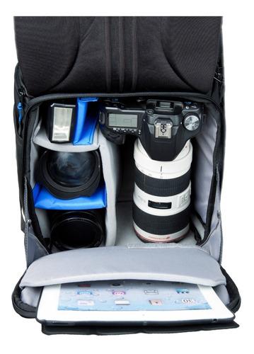 mochila benro cw100 p/camara lente flash tripode canon nikon