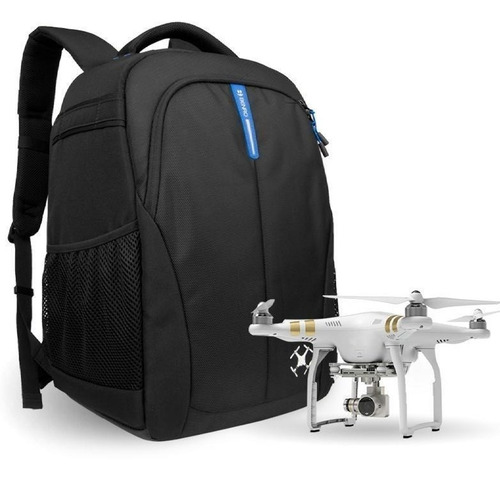mochila benro hiker drone 350n p/ dji phantom e dslr