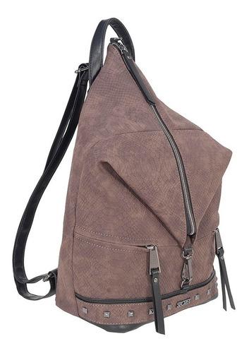 mochila bergen fw19 backpack l dark brown secret