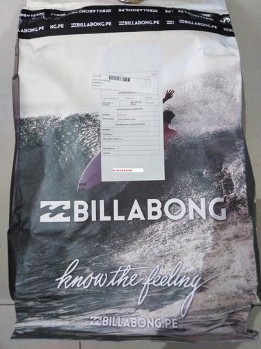 mochila billabong original command surf pack - negro
