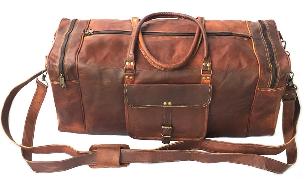 hombre zoom viaje 28pulg bolsa mochila Cargando piel vintage mensajero q67gwxZY