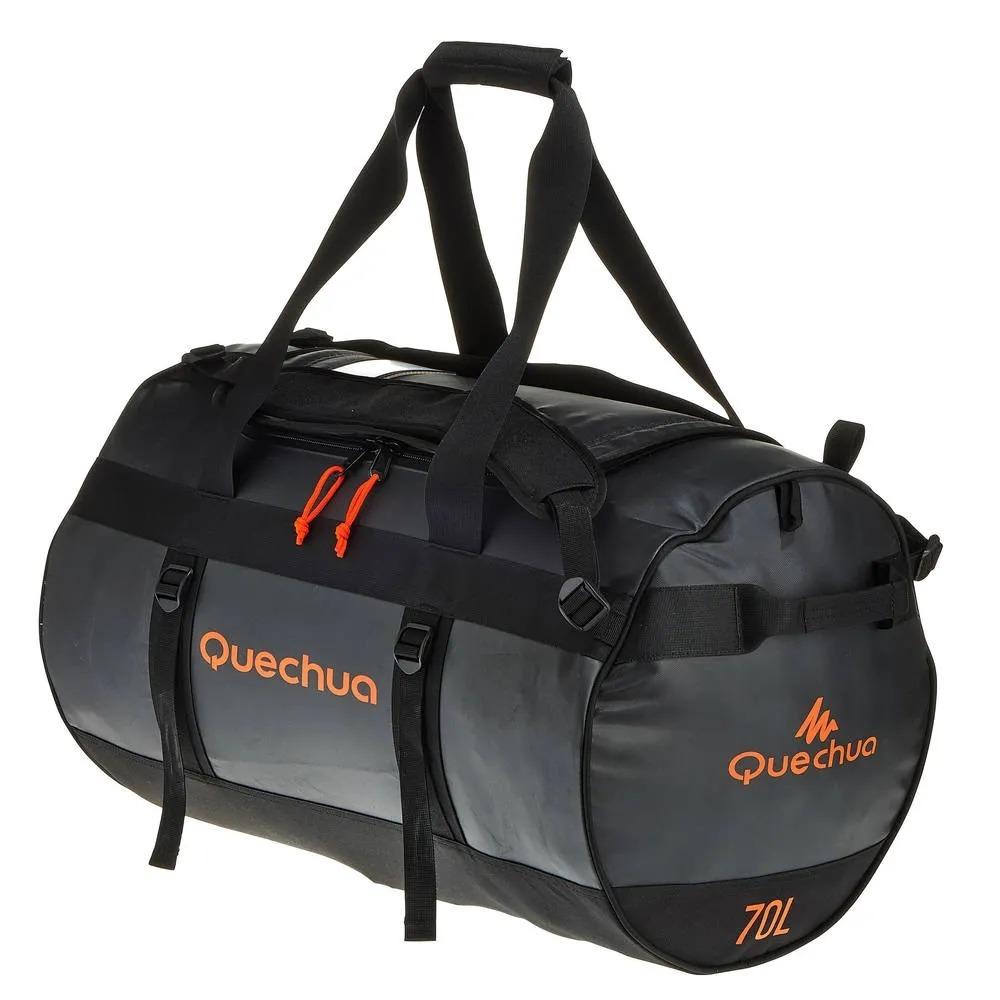 a198d750b mochila bolsa de transporte trekking 70 litros quechua origi. Carregando  zoom.