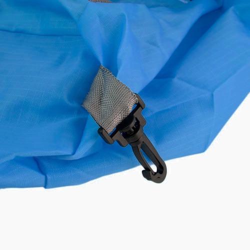 mochila bolsa de viaje impermeable color azul d3043