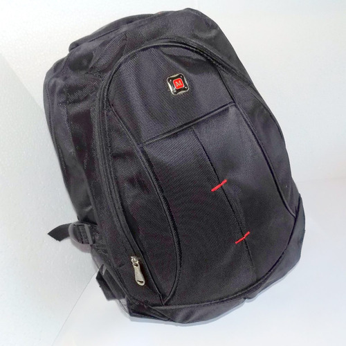 mochila bolsa escolar 2 notebook 15  executiva liquida 50%