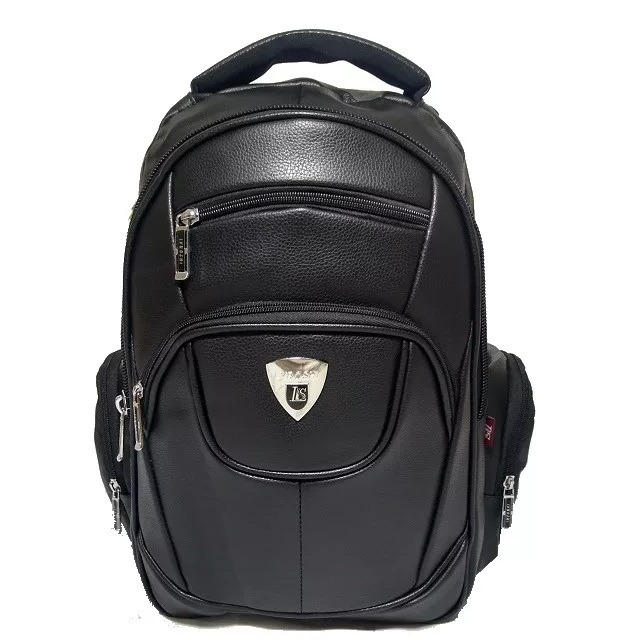 18937ee555 mochila bolsa masculina escolar impermeável couro barato m01 · mochila  bolsa escolar