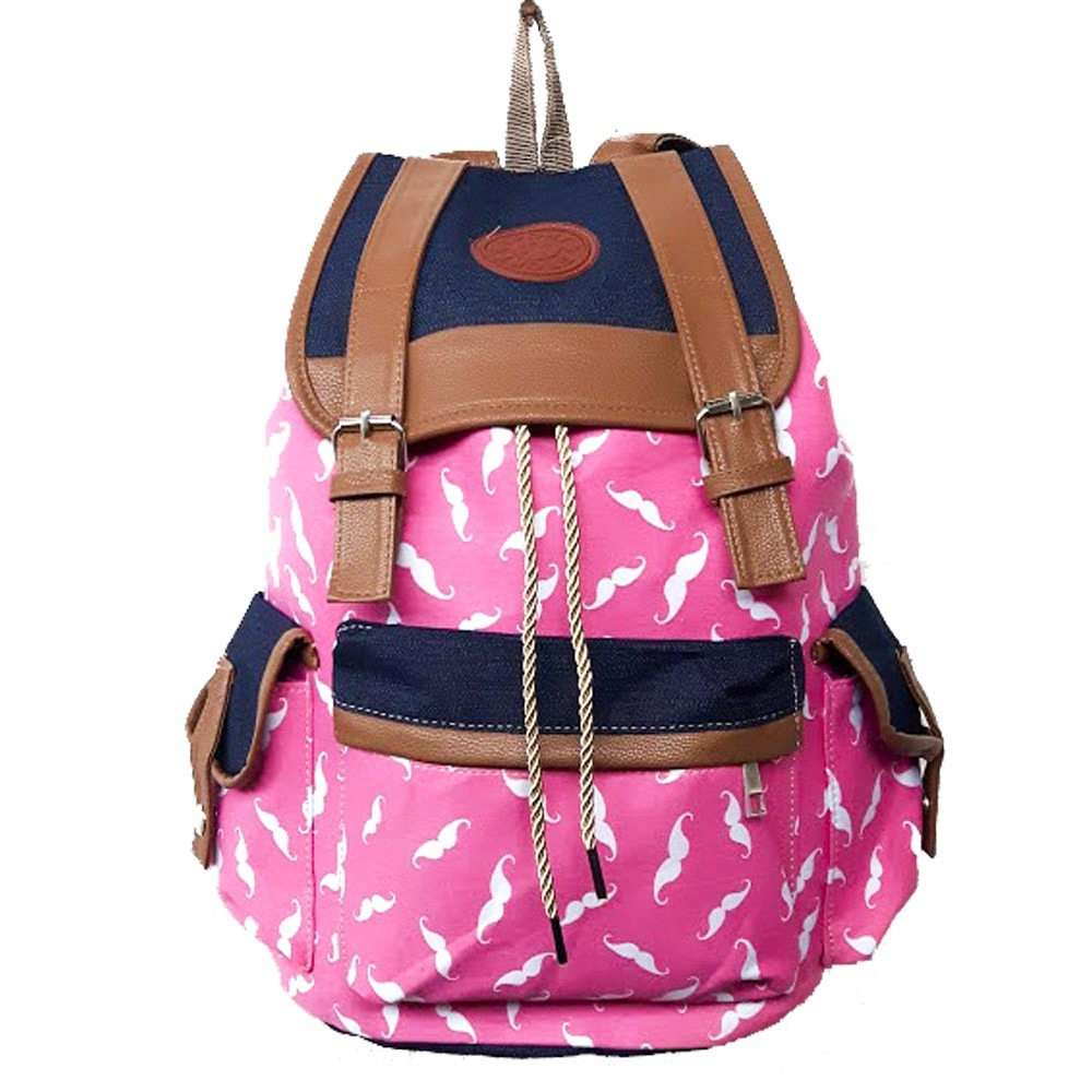 70c6a3d9a1 mochila bolsa escolar casual faculdade notebook rosa m038-1c. Carregando  zoom.