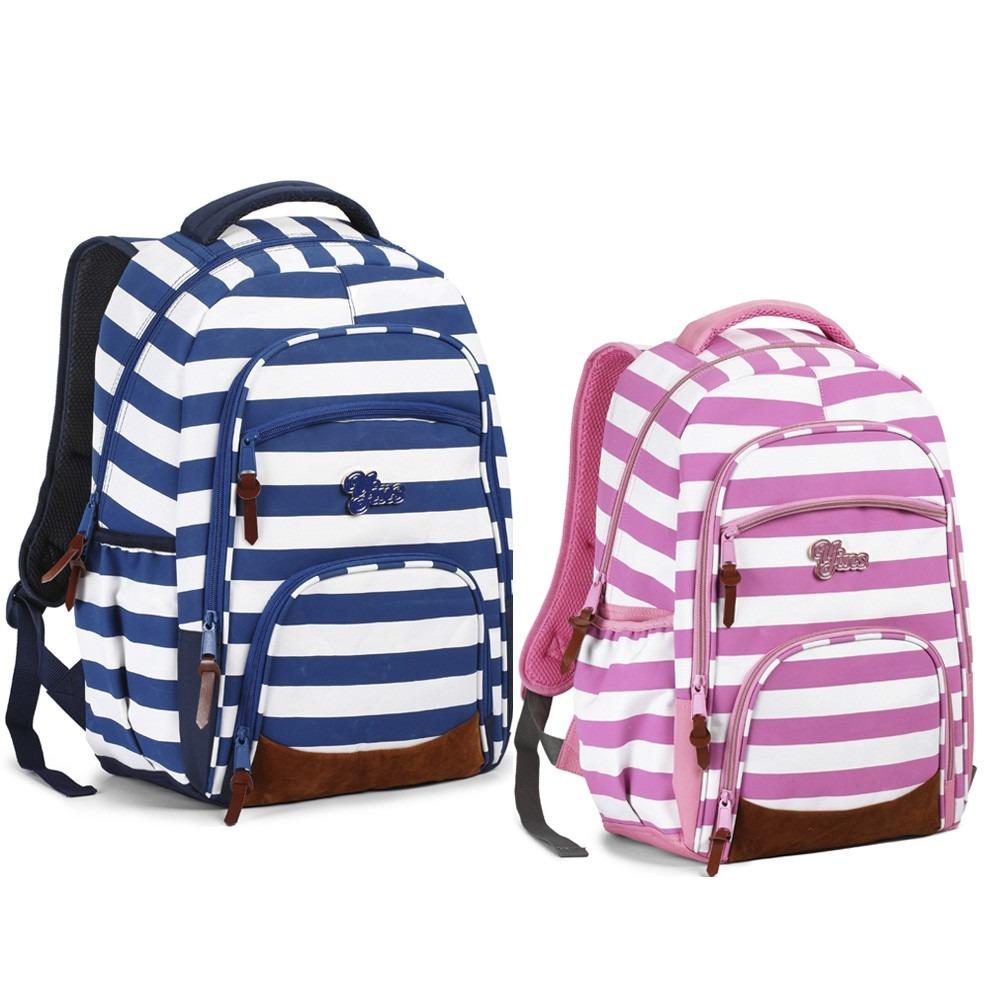 Bolsa Escolar Feminina Mercado Livre : Mochila bolsa escolar feminina juvenil notebook rosa