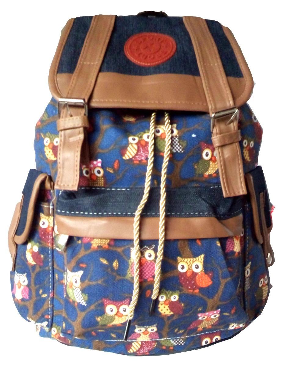 ... e4c7c4cd647 mochila bolsa escolar feminina juvenil pano tecido barato. Carregando  zoom. ... 7a289484cb2fd