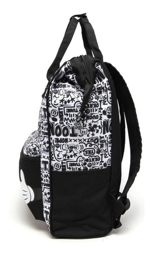 mochila bolsa escolar g mickey vintage quadrinhos 30163