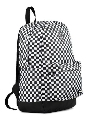 mochila bolsa escolar trabalho viagem mala xadrez everbags