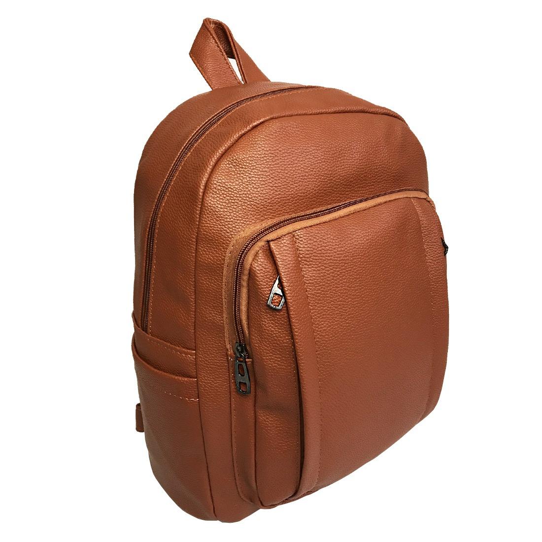 cd7ee2762 mochila bolsa feminina couro sintético faculdade trabalho. Carregando zoom.