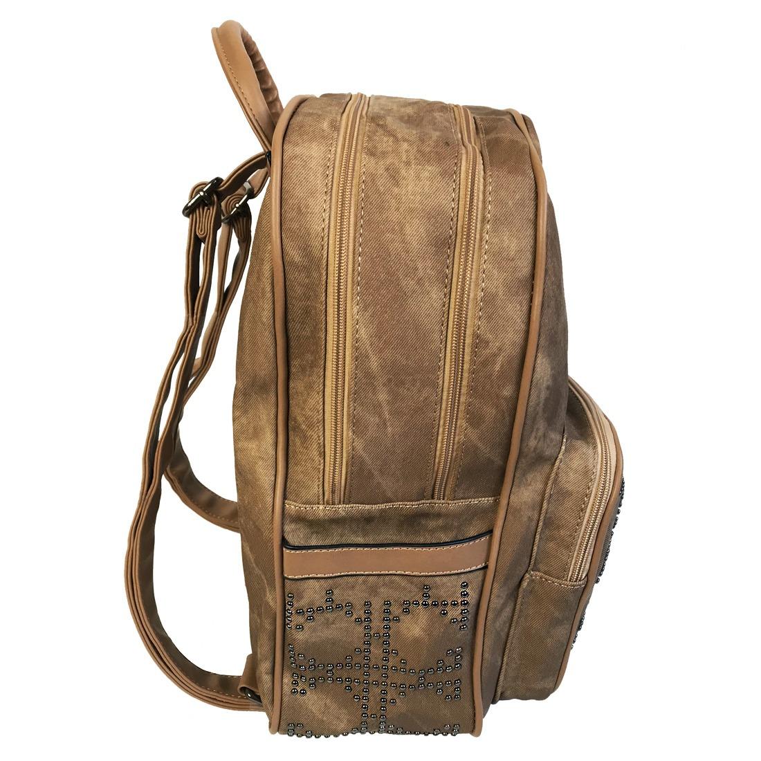 d785c8489f mochila bolsa feminina couro sintético grande. Carregando zoom.
