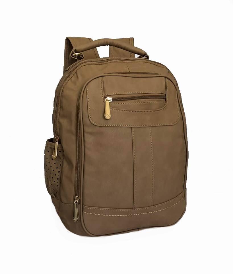 6e0be0047 mochila bolsa feminina couro sintético trabalho escola moda. Carregando  zoom.
