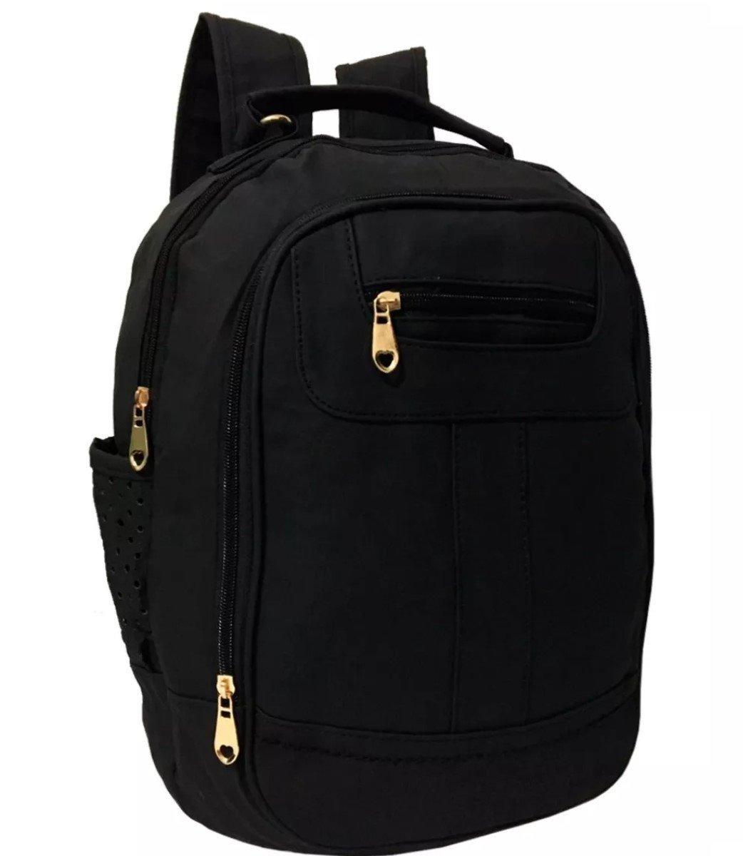 048511b7f mochila bolsa feminina escolar de couro notebook -60% off*. Carregando zoom.
