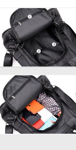 mochila bolsa feminina prova d água viagem anti furto roubo