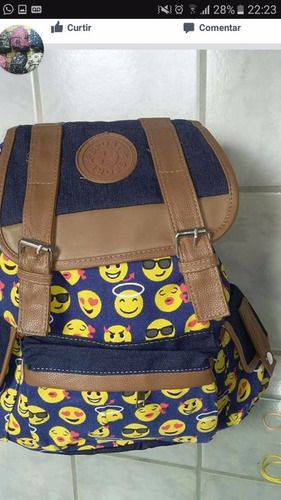 mochila bolsa feminina universitária