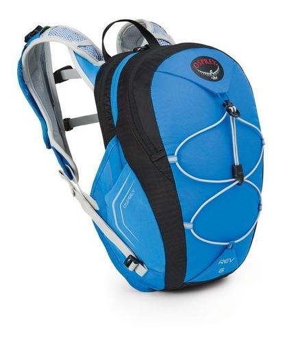 mochila bolsa hidratación rev 6 talla m color azul osprey