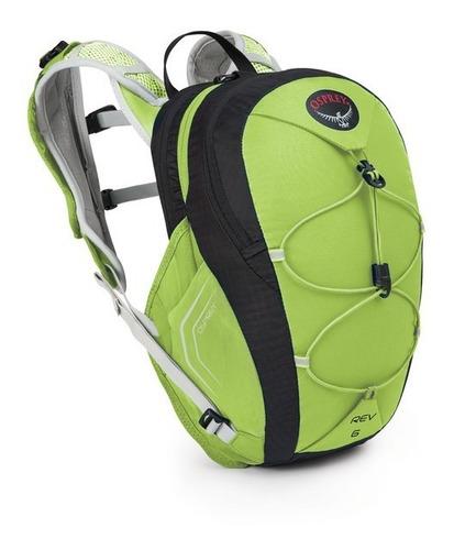 mochila bolsa hidratación rev 6 talla s color verde osprey