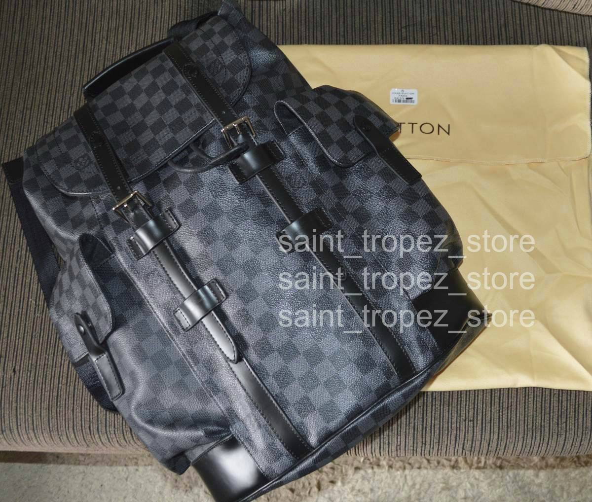 b98e4e8ddcdf Mochila  Bolsa Louis Vuitton Christopher Pm N41379 - R  5.000