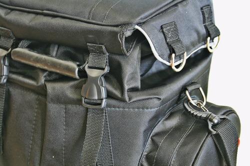mochila bolsa mala baú alforge motos ninja mt07 er6n cbr1000