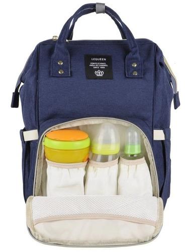 mochila bolsa maternidade lequeen original impermeável