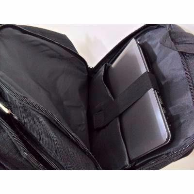 mochila bolsa reforçada notebook 15.6' escolar cabo aço