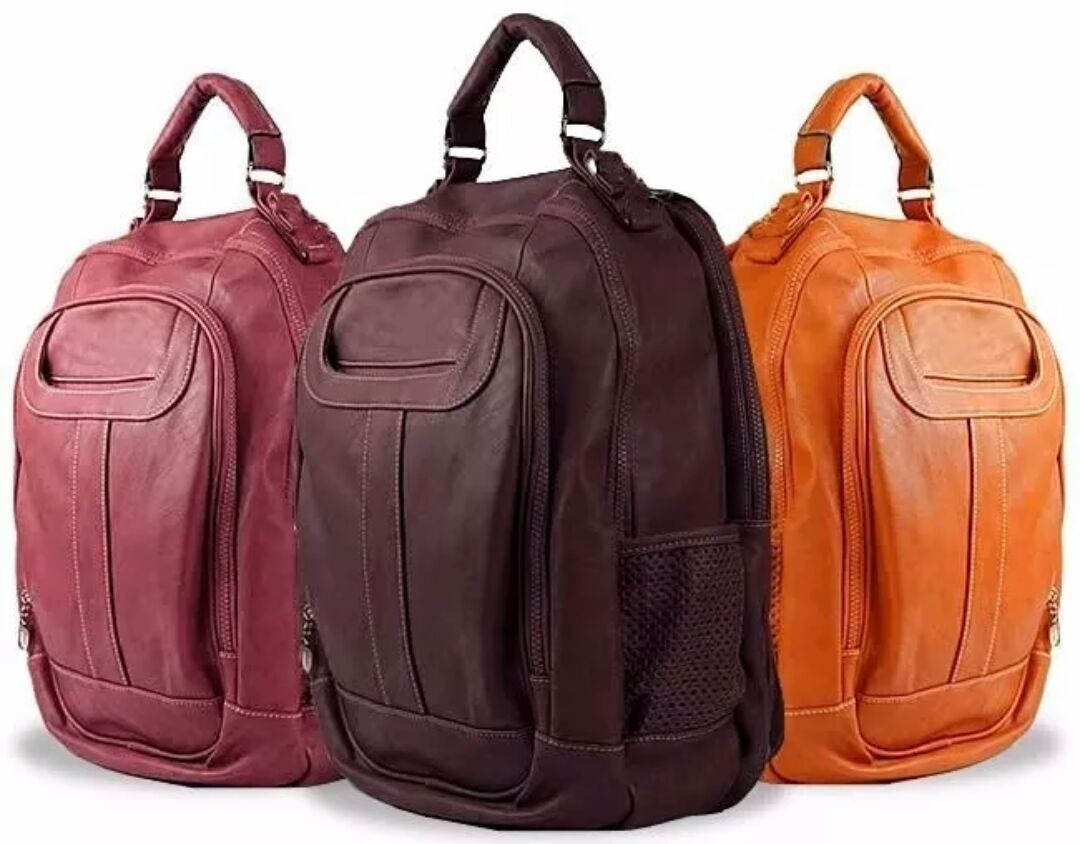 e2d939291 mochila bolsa social feminina de couro notebook promocao. Carregando zoom.
