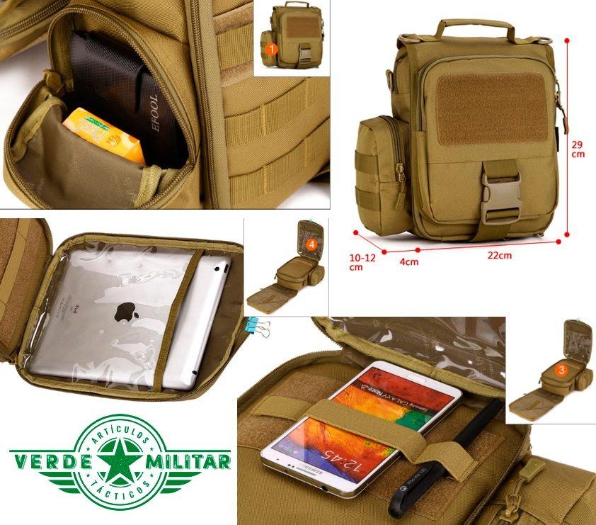 militar zoom mochila y hombro táctica 2en1 multiuso mano bolsa Cargando de  qqwEfrFU c37a69ba546