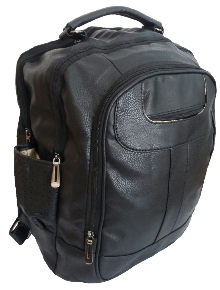 e5d38efef mochila bolsas feminina masculino escolar notebook couro. Carregando zoom.