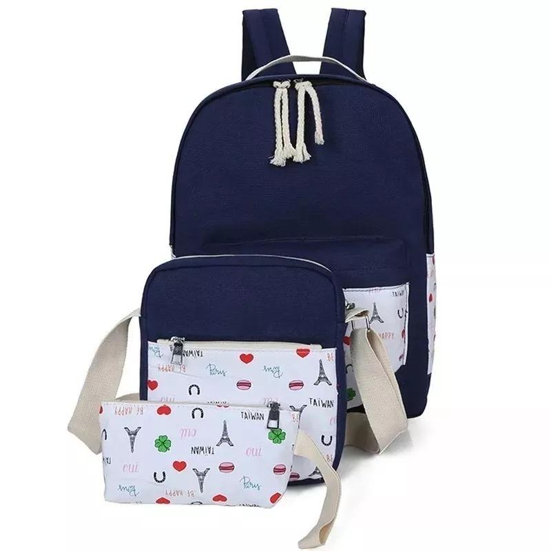 94219d7dcf3 mochila + bolso + cartuchera set escolar moda premium 2019. Cargando zoom.