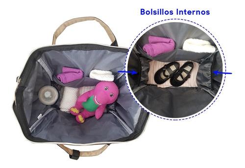 mochila bolso maternal bebe multifuncional amplia unisex