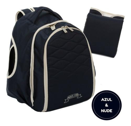 mochila bolso maternal papa mama marieta store® envio gratis incluye cambiador y porta mamadera térmico interno
