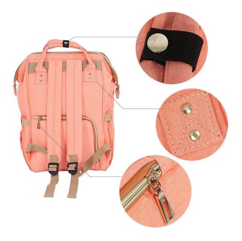 mochila bolso pañalero cartera maletin para bebe maternidad